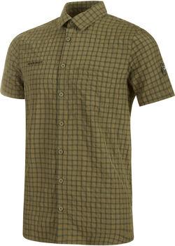 MAMMUT Lenni Shirt Men Férfiak zöld