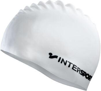 TECNOPRO úszósapka Intersport felirattal fehér