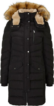 TOM TAILOR Signature Puffer női kabát Nők fekete