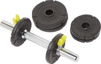 ENERGETICS  10 kgsúlyzókészlet fekete