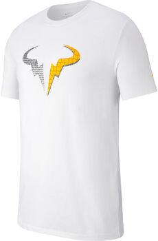 Nike Court Dri-FIT RafaTennis T-Shirt Férfiak fehér