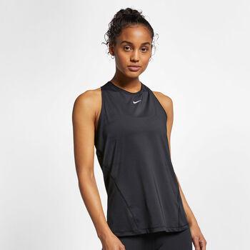 Nike Pro Tank All Over Mesh női top Nők fekete