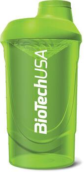 BioTech USA Shaker keverőpalack 600ml zöld