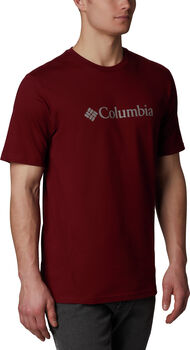 Columbia CSC Basic Logo S férfi póló Férfiak piros