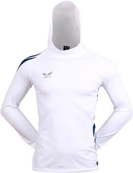 2RULE Dupla Szárnyas kapucnis melegítő felső Férfiak fehér