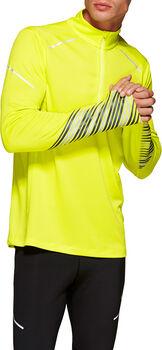 Asics Lite-Show 2 LS 1/2 Z férfi hosszúujjú felső Férfiak sárga