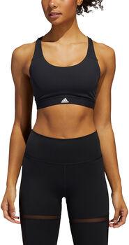 adidas CIR MED SUP BRA sportmelltartó Nők fekete