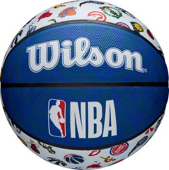 Wilson NBA All Teams Logo kosárlabda kék