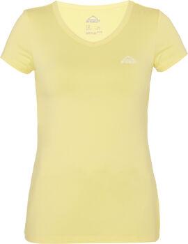 McKINLEY Női-T-shirt Nők sárga