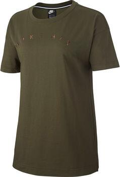 Nike Air Top SS Basic női póló Nők zöld