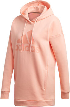 adidas W MH BOS OH HD Nők rózsaszín