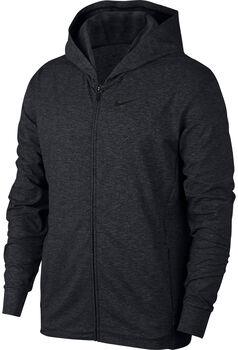 Nike Dri-FIT FZ Training férfi kapucnis felső Férfiak fekete