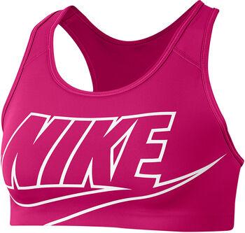 Nike Swoosh Medium sportmelltartó Nők rózsaszín