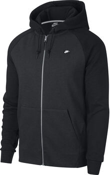 Nike Nsw Optic Hoodie Fz férfi kapucnis felső Férfiak fekete