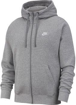 Nike Nsw Club Hoodie Fz Bb férfi kapucnis felső Férfiak szürke