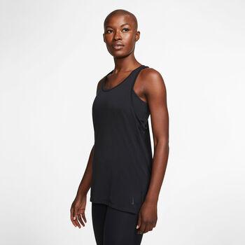 Nike  W  Yoga Layer Tanknői top Nők fekete