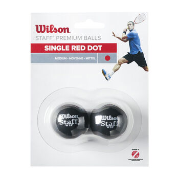 Wilson  Staff squash labda2 darabos piros