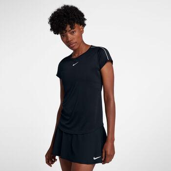 Nike W Court Dry Top női teniszpóló Nők fekete