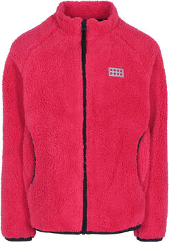 LEGO Wear Sinclair 708 gyerek fleece kabát rózsaszín