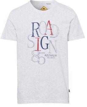 Roadsign 85 férfi póló Férfiak fehér