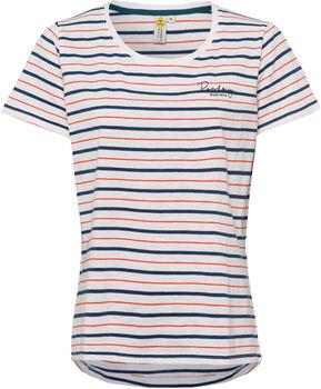 Roadsign Striped Love női póló Nők fehér