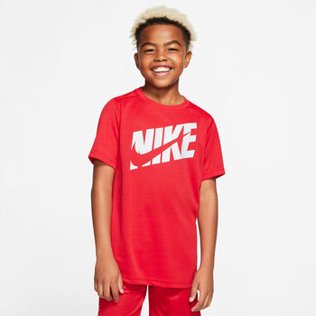 NIKE Fiú-T-shirt B NK HBR+ piros