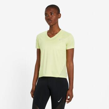 Nike Miler Running Top női futópóló Nők zöld