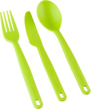 Sea to Summit Camp Cutlery étkészlet zöld