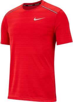 Nike M Dri-Fit Miler Top férfi futópóló Férfiak piros