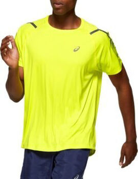 Asics Icon SS TOP férfi futópóló Férfiak sárga