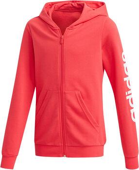adidas YG E LIN FZ HD Lány rózsaszín
