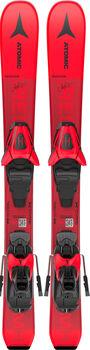 ATOMIC  Redster MH Juniorgyerek alpin síléc piros