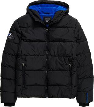 Superdry Sports Puffer férfi kabát Férfiak fekete