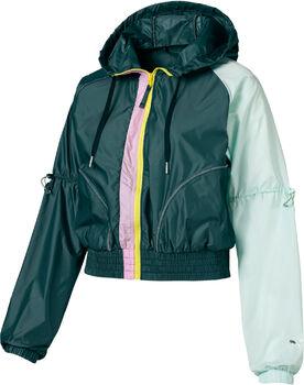 PUMA Cosmic Jacket TZ Nők zöld