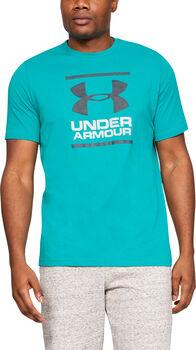 Under Armour GL Foundation férfi póló Férfiak zöld