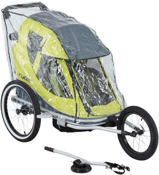 Cytec Kerékpár utánfutó esővédő semleges