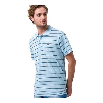Roadsign férfi galléros póló Férfiak kék