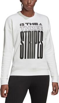 adidas MHE GR Sweat női pulóver Nők fehér