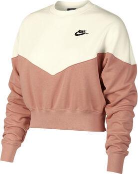 Nike Nsw Heritage Crew Fleece női felső Nők rózsaszín
