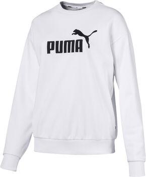 Puma Ess Logo Crew Sweat női hosszújjú felső Nők fehér