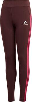 ADIDAS YG 3Stripes Tight lány nadrág piros