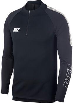 Nike Dri-FIT SquadSoccer Drill férfi hosszú ujjú felső Férfiak fekete