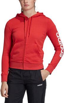 adidas Essential Linear Hoodie női kapucnis felső Nők rózsaszín