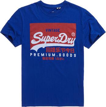 Superdry Graphic Tee férfi póló Férfiak kék