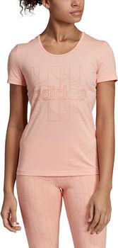 adidas W MO Pr T-Shirt Nők rózsaszín