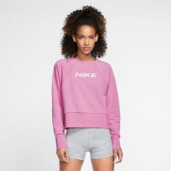 Nike Dri-FIT Get Fit női pulóver Nők rózsaszín