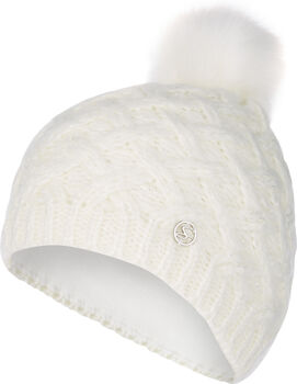 McKINLEY  Malma II női sapkaFleece bélés, 100% PC, Nők fehér