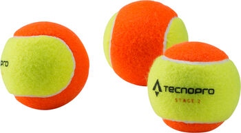 TECNOPRO BASH Stage 2 teniszlabda narancssárga