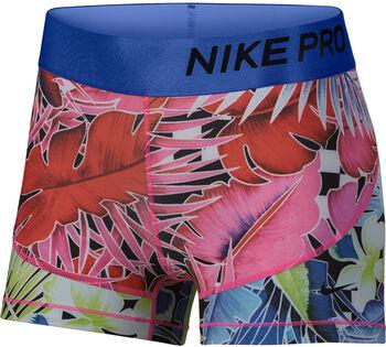 """Nike Pro 3"""" Printed Shorts Nők rózsaszín"""