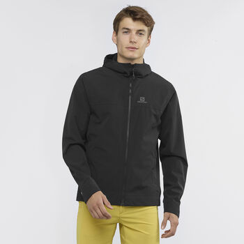 Salomon Explore WP férfi kabát Férfiak fekete